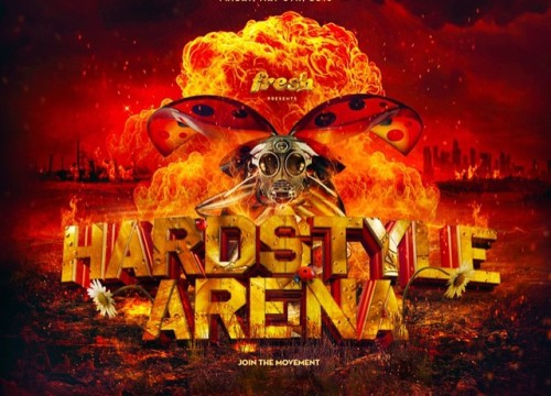Coming May 8th, Fresh presents: Hardstyle Arena!  Get your tickets today at: GunzforhireLA.Eventbrite.com or your local retailer.  Visit hardstylearena.com for further information.  #Hsa #hardstylearena